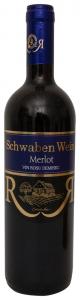 Vin rosu demisec Recas Schwaben Wein Merlot 0.75L
