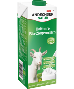 Lapte bio de capra UHT Andechser Natur 1L