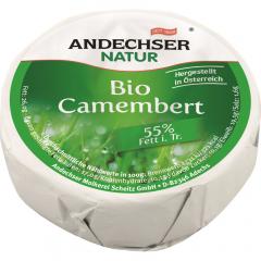 Branza Camembert Bio 55%grasime Andechser 100g