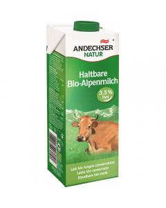 Lapte Bio integral UHT Andechser Natur 1L
