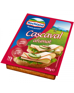 Cascaval afumat Hochland 450g