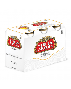 Bere blonda Stella Artois doza 6x0.5L