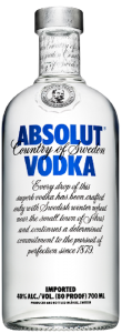 Votca 40% alcool Absolut 0.7l