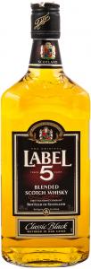 Scotch Whisky Label 5 700ml