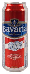 Bere fara alcool Bavaria 500ml