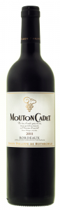 Vin rosu sec Mouton Cadet 0.75L