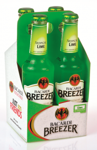 Cocktail de lamaie verde Bacardi Breezer 1.1L