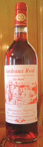 Vin rose Port de Bordeaux 750ml