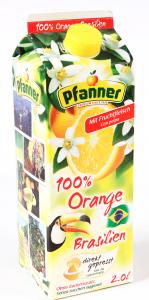 Bautura racoritoare cu aroma de portocale Braziliene Pfanner 2L