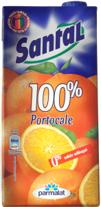 Suc natural de portocale Santal 2l