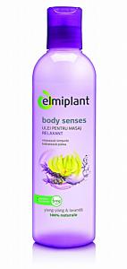 Ulei relaxant pentru masaj Body Senses Ylang-Ylang&Lavanda Elmiplant 250ml