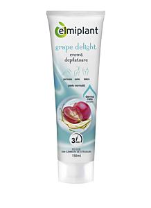 Crema depilatoare Grape Delight pentru piele normala Elmiplant150ml