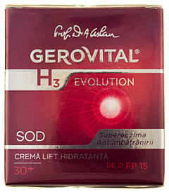 Crema lift hidratanta 30+ de zi Gerovital H3 Evolution 50ml
