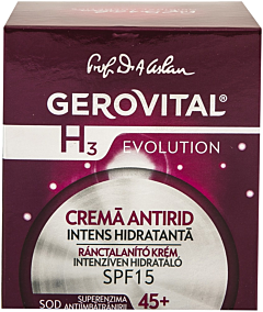 Crema anntirid 45+ Gerovital 50 ml