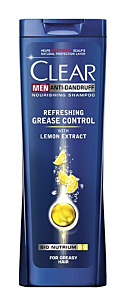 Sampon barbati Refreshing Grease Clear 400ml