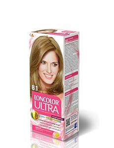 Vopsea de par Loncolor Ultra Stralucire si Vitalitate 8.1 Blond Bej 50ml