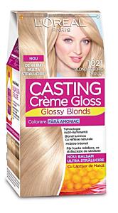 Vopsea de par L'Oreal Casting Creme Gloss 1021 Blond Perlat Deschis