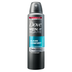 Anti-perspirant spray Dove Men+Care Clean Comfort 150ml
