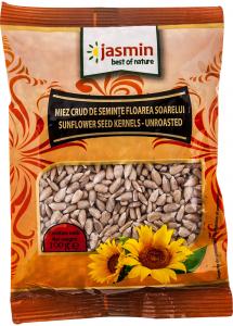 Miez crud de seminte floarea soarelui Jasmin 100g