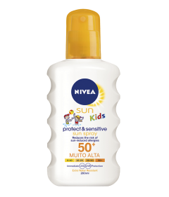 Spray protectie solara SPF50+ Nivea Sun Kids 200ml