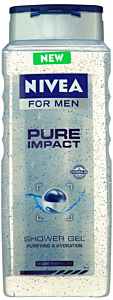 Gel de dus Nivea for Men Pure Impact 500ml