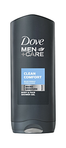 Gel de dus Dove Men+Care Clean Comfort Caring Formula Micromoisture 400ml
