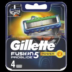 Rezerve aparat de ras 4 B Fusion Power Gillette