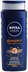 Gel de dus barbati Sport Nivea 500ml