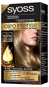 Vopsea de par Syoss oleo intense 7-10 blond natural