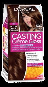 Vopsea de par L'Oreal Casting Creme Gloss 503 Ciocolata Aurie