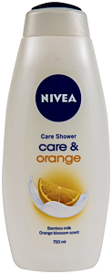 Gel de dus Nivea Care & Orange 750ml