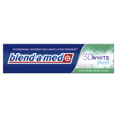 Pasta De Dinti 3D White Fresh Extreme Mint Kiss , 100 ml Blend-a-med
