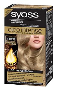 Vopsea de par Syoss oleo intense 8-05 blond bej