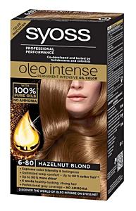 Vopsea de par Syoss oleo intense 6-80 blond aluna