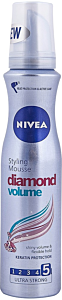 Spuma Nivea Diamond Volume 5 Ultra Strong 150ml