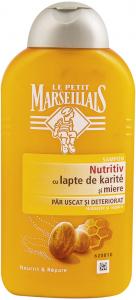 Sampon nutritiv cu lapte de karite si miere Le Petit Marseillais 250 ml