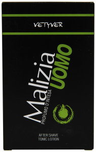 After Shave Malizia Uomo Vetyver Tonic Lotion 100ml