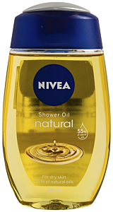 Ulei de dus natural Nivea 200ml