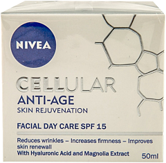 Crema antirid de zi Nivea Cellular Anti-Age Skin SPF 15 50ml