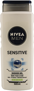 Gel de dus sensitive Nivea Men 500 ml