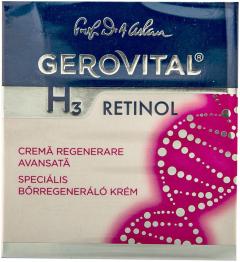 Crema regenerare avansata Gerovital H3 Retinol 50ml