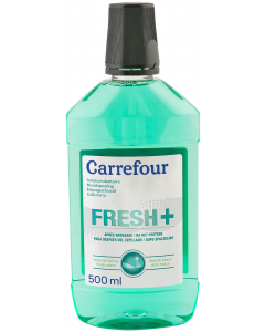 Solutie dentara Carrefour Fresh 500 ml