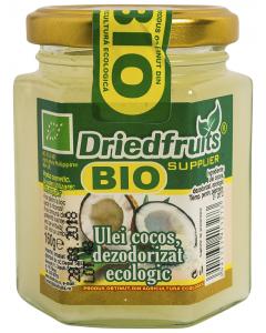 Ulei de cocos, dezodorizat ecologic Bio Driedfruits 160g