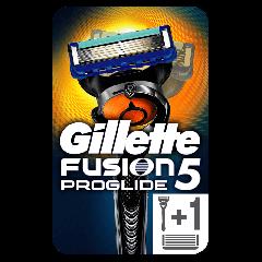 Aparat de ras Gillette Proglide, 2 rezerve