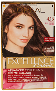 Vopsea de par dark frosted brown Excellence L'Oreal Paris 1buc
