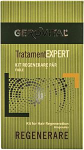 Kit regenerare par Tratament expert Gerovital 10 fiole x 5 ml, 10 fiole x 10 ml