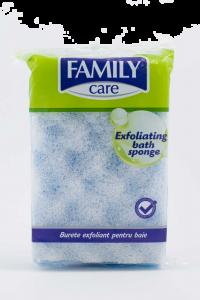 Burete exfoliant pentru baie Family Care