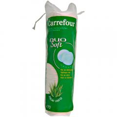 Dischete demachiante aloe vera cu fete duble Carrefour 70buc