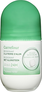 Deodorant roll-on Carrefour Pierre D'Alun 50ml