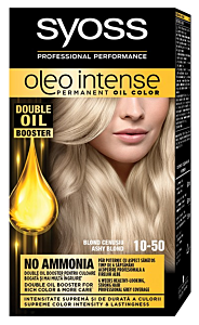 Vopsea de par permanenta fara amoniac oleo intense 10-50 Blond Cenusiu Syoss 115ml